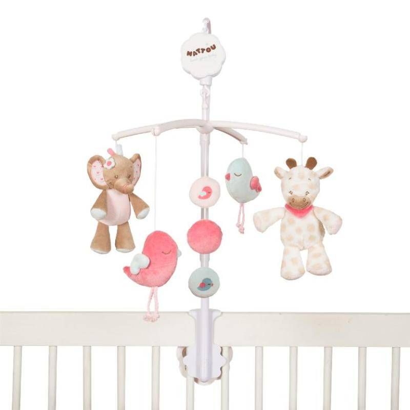 Nattou mobile musical charlotte et rose - Mobile musical bebe fille ...