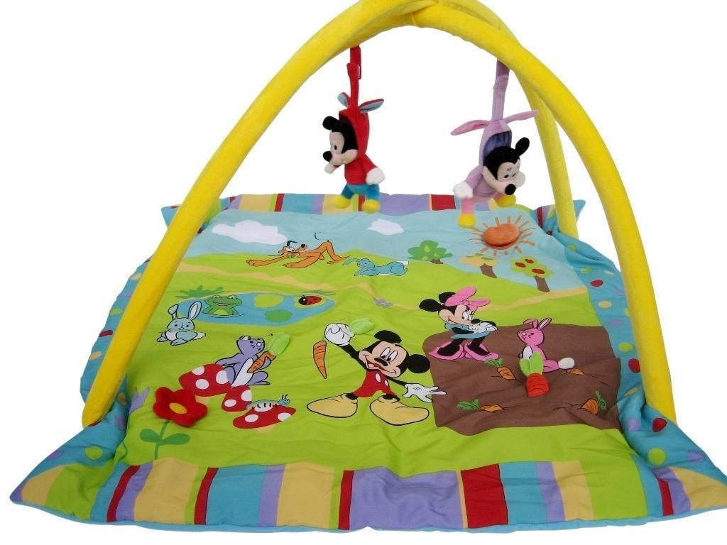 Deco Chambre Yin Yang : Disney  Tapis eveil mickey et minnie Doudouplanet