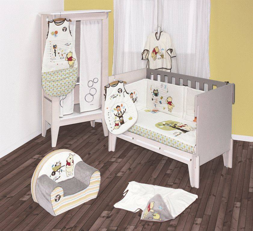 babycalin gigoteuse winnie woodland 65 cm. Black Bedroom Furniture Sets. Home Design Ideas